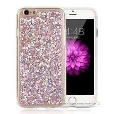 Bling Glitter Sparkle Rubber Soft TPU Back Case Cover For Apple iPhone 6 6s Plus