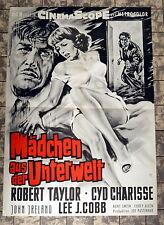MÄDCHEN AUS DER UNTERWELT / PARTY GIRL * R. TAYLOR - A1-FILMPOSTER - 1959 RAR
