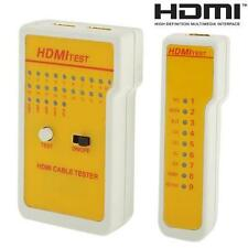 9 LED Indicators HDMI High Definition Cable Tester Tool HIYG