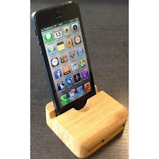 Holz Tisch Ständer Halter Lautsprecher für iPhone 5 / 5S