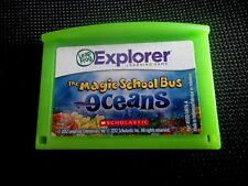 LeapFrog The Magic School Bus Oceans Learning Game LeapPad Leapster Explorer C