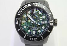 INVICTA 22082 50MM TI-22 SCUBA AUTOMATIC ABALONE TITANIUM LIMITED EDITION WATCH!
