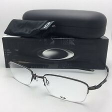 New OAKLEY Eyeglasses SPOKE 0.5 OX3144-0253 53-19 140 Semi Rimless Pewter Frame