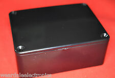 BLACK ABS PROJECT BOX 100x77x41 mm  PACK OF 1 BOX