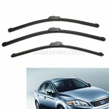 "19"" 20"" 22"" Front & Rear Wiper Blade Windscreen Windshield For Ford Mondeo MKIII"