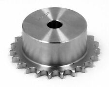 04B-1-8 - 6mm Steel Roller Chain Simplex Sprocket Pilot Bore - 8 Tooth