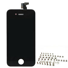 Black Assembly touch Screen Display +  LCD Digitizer For iPhone 4 GSM + Screws
