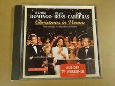 CD / PLÁCIDO DOMINGO, DIANA ROSS, JOSÉ CARRERAS – CHRISTMAS IN VIENNA