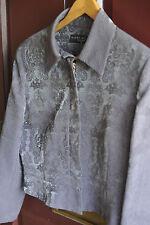 Réduit karen millen veste brocade, avec belle patine taille 12-14
