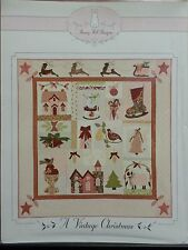 A VINTAGE CHRISTMAS QUILT PATTERN, From Bunny Hill Designs NEW