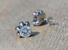 Paire de Boucles d'oreille Griffes / Big Strass  ( biker gotique punk )  REF 693