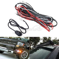 Universal Car Work Fog Light Bar Wiring Harness Kit 12V 40A ON/OFF Switch Relay
