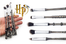 10 pieces Harry Potter Fans Wizard Wand Make Up Brushes 2 Sets Kit Cosmetics