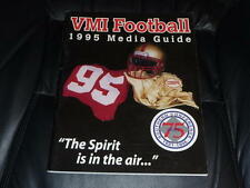 1995 VMI COLLEGE FOOTBALL MEDIA GUIDE EX-MINT BOX 35