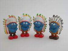 Varianten Indianer Schlumpf aus Sammlung -rar ! - variations: indian smurf !