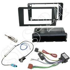 Audi a3 2007-2014 doble DIN radio diafragma + especializado sistema activamente adaptador cable del adaptador
