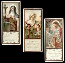 lotto santini-holy cards lot-lot images pieuses-konvolut heiligenbildichen n.887