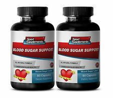 Heart Health - Blood Sugar Support 620mg - Help Maintain Healthy Metabolism 2B