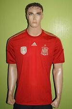 Adidas españa Home camiseta Jersey WM 2014 caballeros talla L Spain camiseta españa