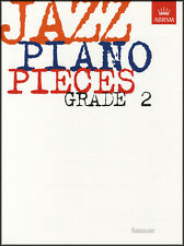 Jazz Piano Pieces Grade 2 ABRSM Sheet Music Book