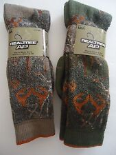REALTREE  Brand Wool Blend Camo Socks, Size 10-13 / Men's Shoe 9-13,USA