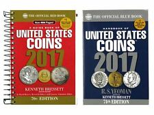 2017 Red Book, Spiral Price Guide and 2017 Blue Book, Handbook of U.S. Coins