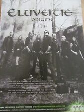 Eluveitie, Origins, Full Page Promotional Ad
