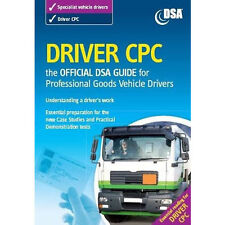 Official DVSA Driver CPC DSA Guide Professional Goods Vehicles LGV Book 2016'CPC
