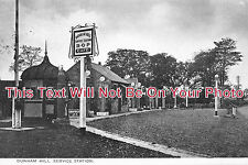 CH 91 - Dunham Hill Service Station, Helsby, Frodsham, Cheshire c1937 6x4 Photo