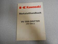Werkstatthandbuch Reparaturanleitung Kawasaki VN 1500 Drifter (VN1500J)