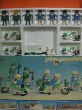 Playmobil set policías años 70 vintage Ref 3401 en Caja original
