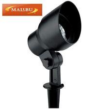 Malibu CL9 12V AC Cast Metal Flood Light Fixture, Black 8301-9604-01 with 2W LED