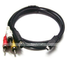 New VMC-15FS Video Audio A/V Cable for Sony  Handycam DCR-DVD92/E/V DCR- SR40E