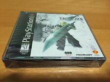Final Fantasy VII 7 Sony PlayStation PS1 Y-Fold Black Label New Sealed