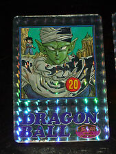 DRAGON BALL Z GT DBZ COVERS COLLECTION CARDDASS CARD PRISM CARTE 6 BIRD BRAVO --