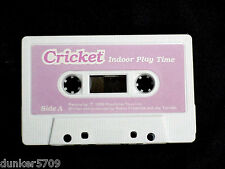 TALKING CRICKET DOLL AUDIO TAPE INDOOR PLAY TIME WORKS