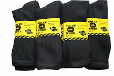 12 pairs mens Cotton Rich work Socks .heavy duty  size uk 6-11