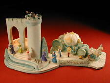 OLSZEWSKI - GOEBEL - DISNEY CINDERELLA'S COACH & DREAM CASTLE & 10 FIGURES 1990