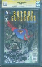 Batman Superman 1 CGC 2X SS 9.8 Jae Lee Pak March Variant Justice League Movie