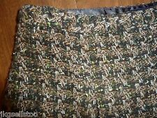 ETCETERA - PLEATED BROWN/GREEN TWEED FALL/WINTER SKIRT - MISSES 0