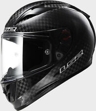 *SALE* S 55-56CM LS2 FF323 ARROW CARBON BLACK EVO BLACK MOTORCYCLE CRASH HELMET