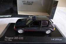 Peugeot 205 GTI  1990 in 1/43 OVP  Minichamps LIMITED