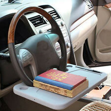 Universal Grey GPS Computer Laptop Desk Car Steering Wheel Tray Dining Table