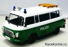 Barkas B1000 Police of Germany 1/43 Diecast model DeAgostini #63
