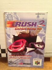 Rush 2 Notice  ( Nintendo 64 )