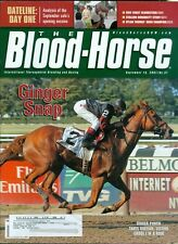 2007 The Blood-Horse Magazine #37: Ginger Punch Wins Ruffian/Stallion Study