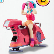 Dragon Ball Z Plastic Model Kit & Figure Part 1 Bulma & Bike JAPAN ANIME MANGA