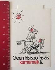 Aufkleber/Sticker: Geen Fris Is Zo Fris Als Karnemelk Is (12061627)