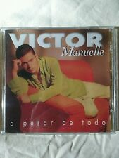 A Pesar de Todo by Victor Manuelle (CD, Jun-1997, Sony Music Distribution (USA))