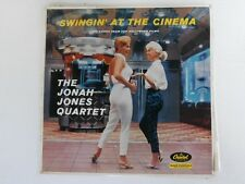 THE JONAH JONES QUARTET Swingin' At The Cinema - 1958 Mono LP